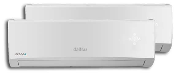 climatisation daitsu blanche