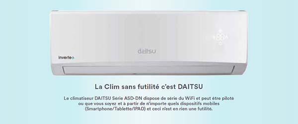 climatiseur daitsu