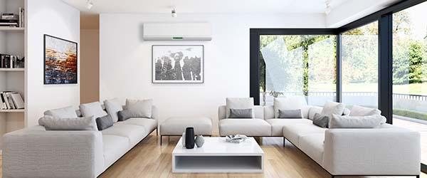 climatiseur mural salon
